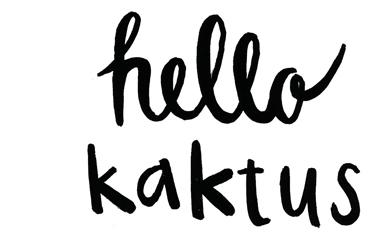HELLO KAKTUS